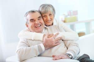 Senior Couple After Dental Checkup