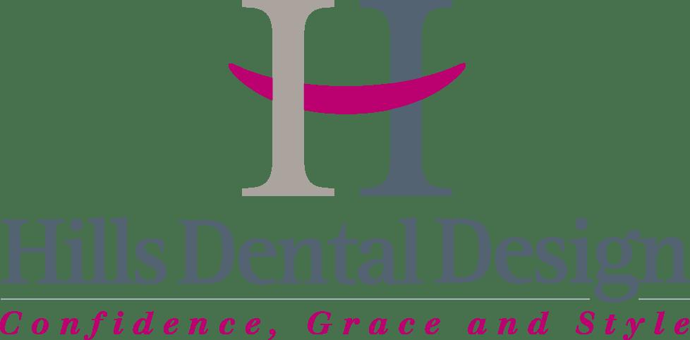hills dental design logo
